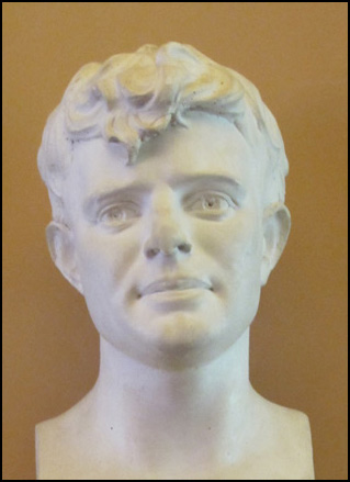 Jack London Bust; Authors Road