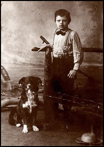 Jack London as young boy