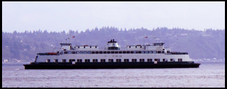 Vashon Island Ferry, Karen Cushman, Authors Road
