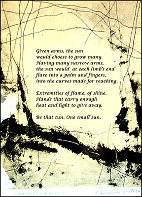 Poem by Paulann Petersen, Authors Road